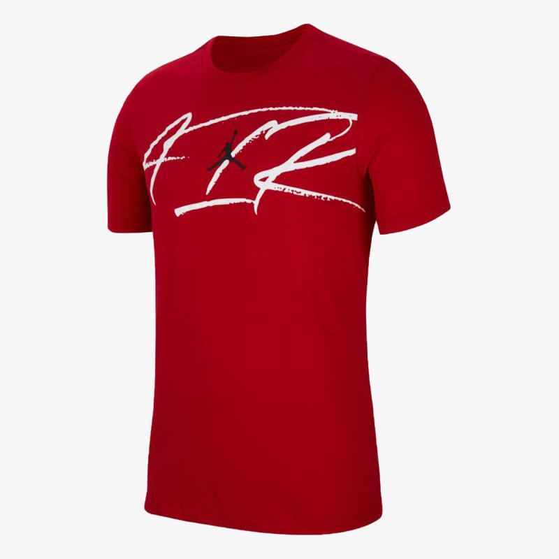 NIKE t-shirt M J SCRIPT AIR DFCT SS CREW
