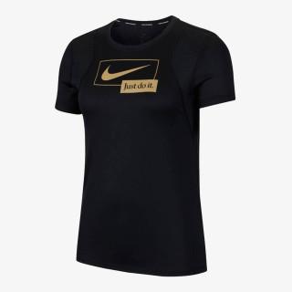 NIKE t-shirt W NK ICNCLSH RUN SS