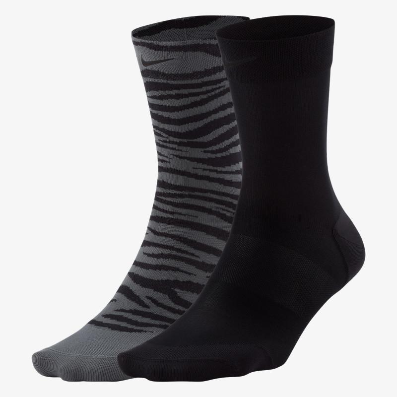 NIKE čarape W NK SHEER ANKLE - 2PR SOLID + NOVELTY