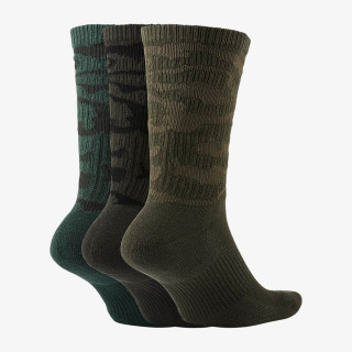 NIKE čarape U NK EVERYDAY PLUS CUSH CREW 3PR - CAMO