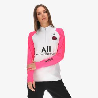 NIKE majica dugih rukava s polu patentom PSG W NK DRY ACDPR DRIL TOP