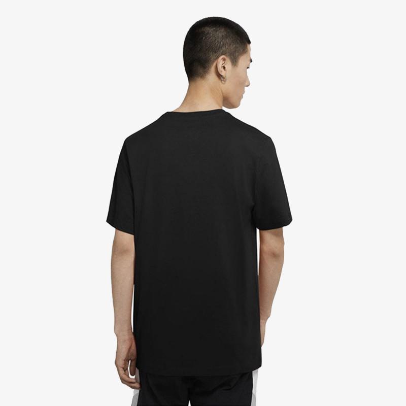 NIKE t-shirt M NSW TEE BLK + SWSH ESSNTLS