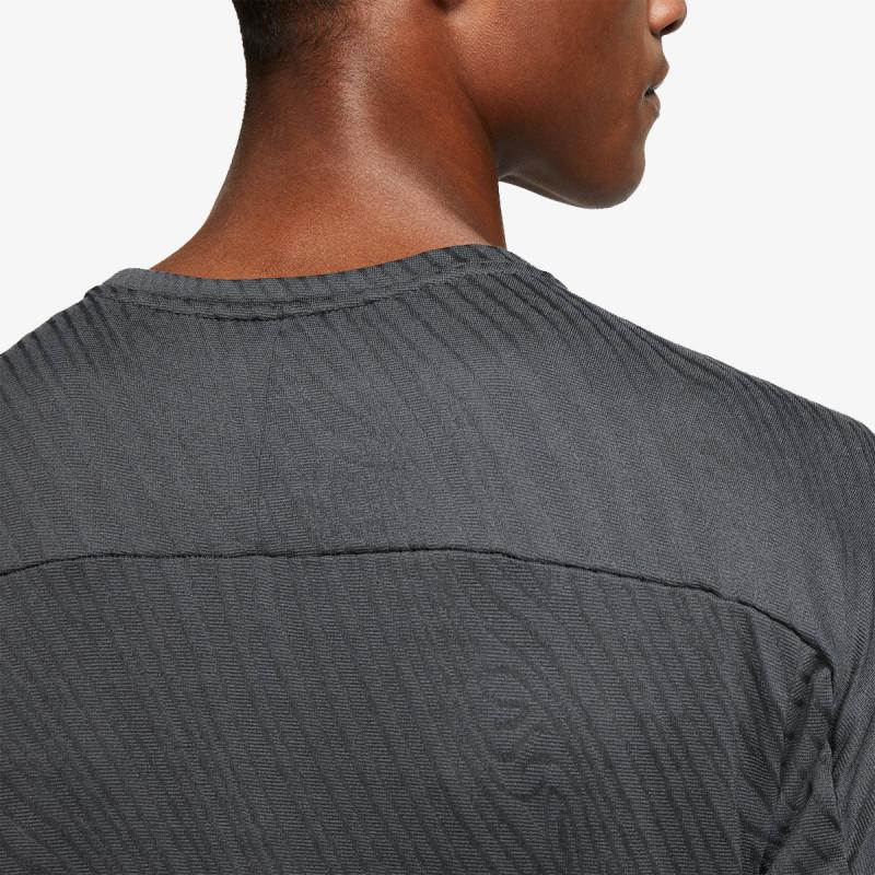 NIKE majica dugih rukava s polu patentom M NK DF ELMNT TOP HZ TRAIL
