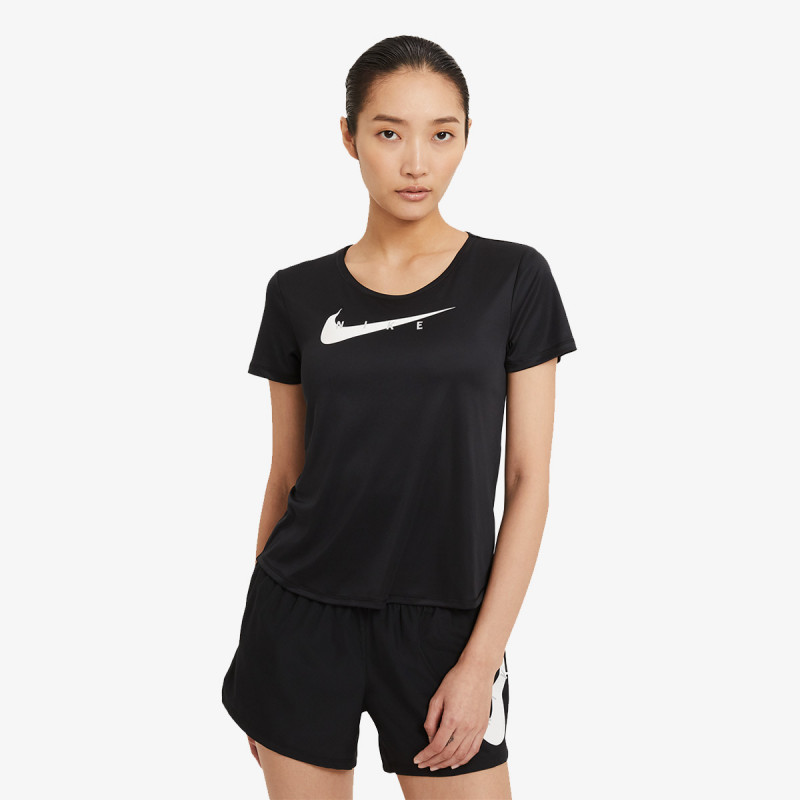 NIKE t-shirt W NK SWOOSH RUN TOP SS