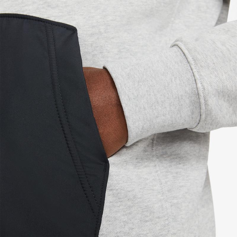 NIKE majica dugih rukava s polu patentom M NSW CE HZ FT TOP SNL ++