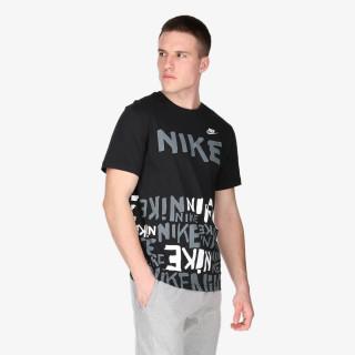 NIKE majica kratkih rukava M NSW TEE PRINTED AOP HBR