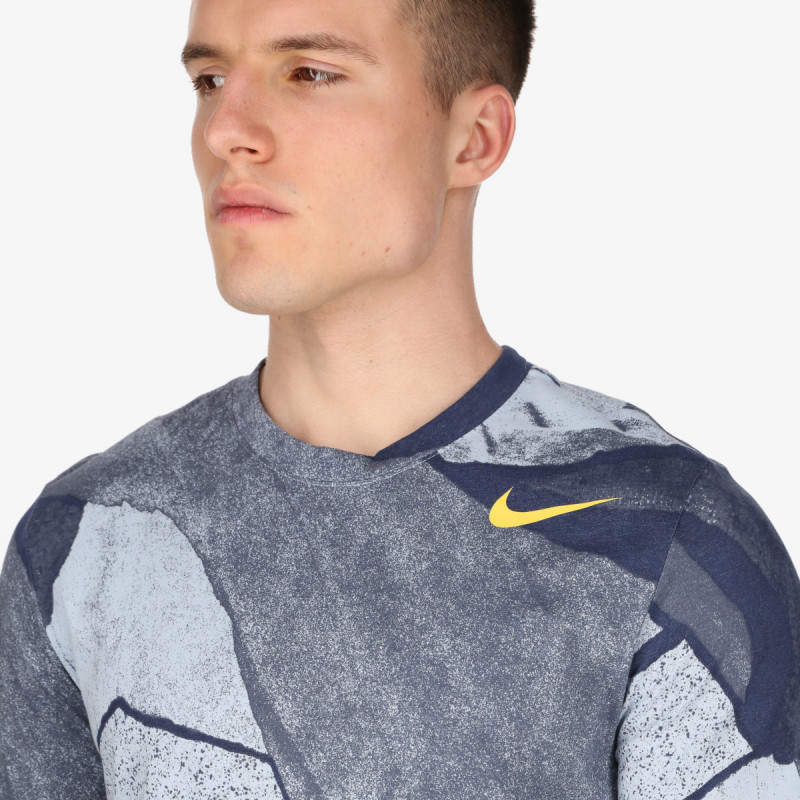 NIKE t-shirt M NK DF TEE SSNL AOP SU21