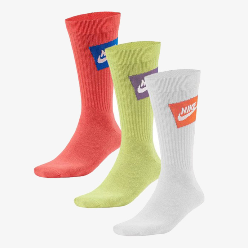NIKE čarape U NK NSW EVERYDAY ESSENTIAL CREW 3PR - J
