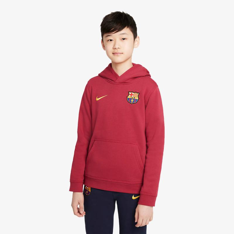 NIKE dječja majica s kapuljačom FCB B NSW PO BB