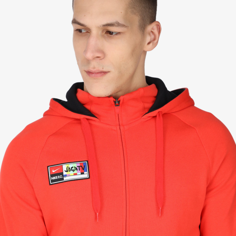 NIKE majica s kapuljačom na patent M NK FC PO FZ