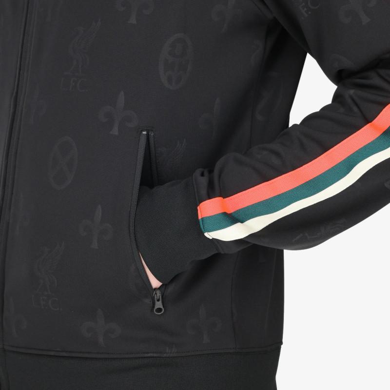NIKE majica dugih rukava s patentom LFC M NSW HE JKT N98 TRBT
