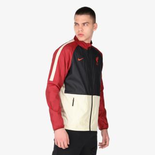 NIKE majica dugih rukava s patentom LFC MNK DF RPL ACDMY AWF JKT