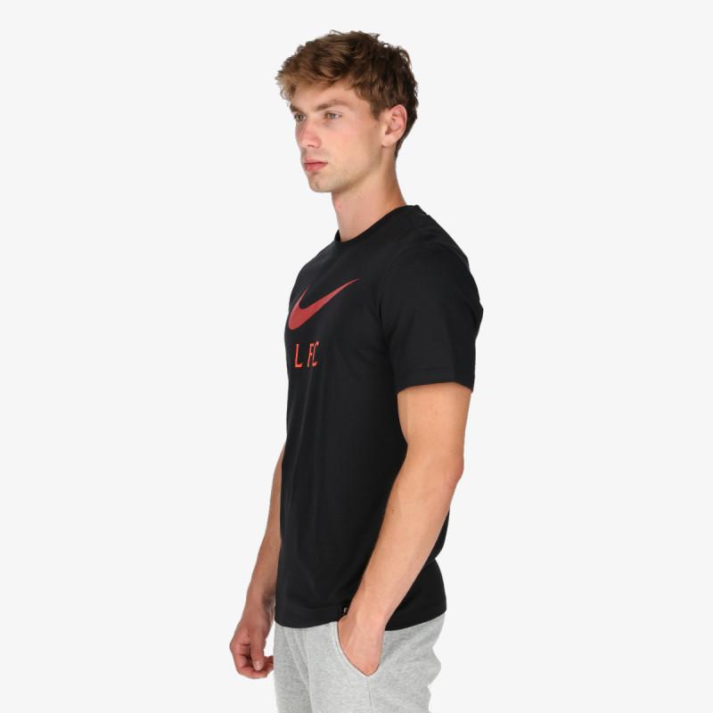 NIKE t-shirt LFC M NK SWOOSH CLUB TEE