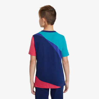 NIKE dječji t-shirt FCB B NK TEE IGNITE BLAUGDI