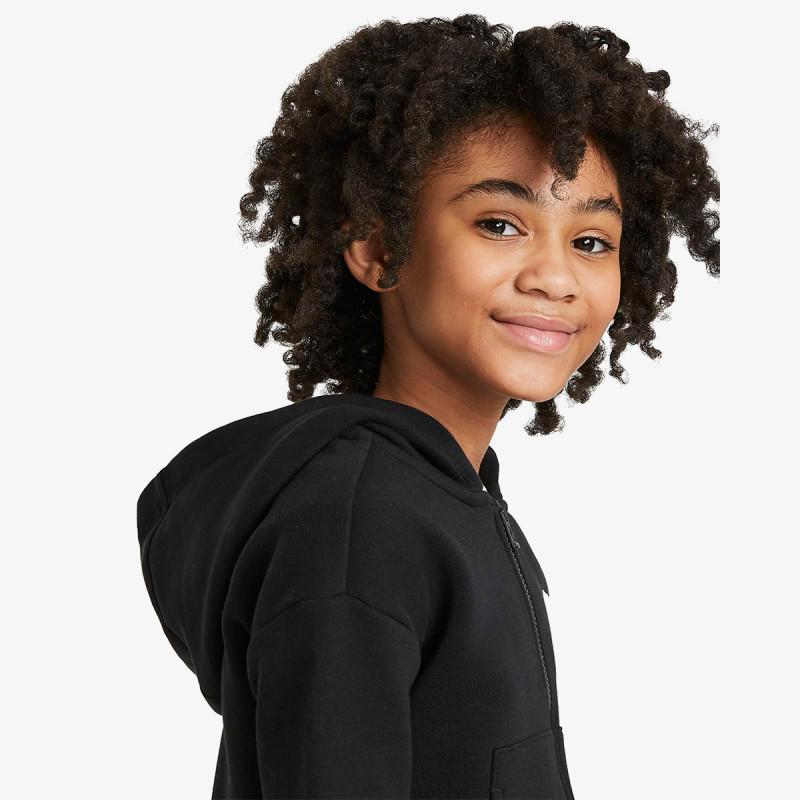 NIKE dječja majica s kapuljačom na patent G NSW CLUB FLC FZ LBR
