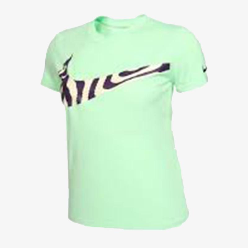 NIKE dječja t-shirt G NK DRY TEE LEG VNECK SWSH FI