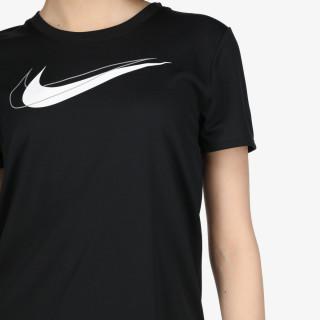 NIKE t-shirt W NK DF SWSH RUN TOP SS