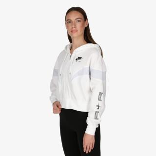 NIKE majica s kapuljačom na patent W NSW AIR FLC GX FZ