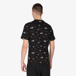 NIKE t-shirt M NSW TEE SWOOSH 50 AOP