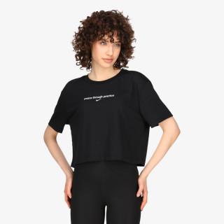 NIKE t-shirt W NK SS CROP YOGA 2