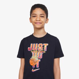 NIKE dječji t-shirt B NSW TEE BASKETBALL GAMER JDI