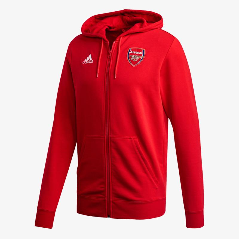 adidas majica s kapuljačom AFC 3S FZ HD