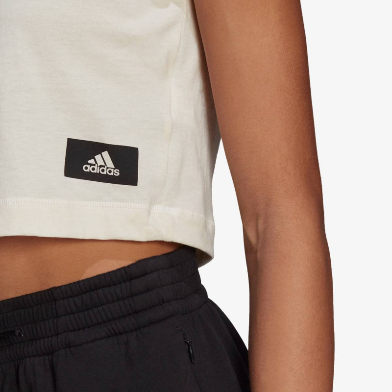 adidas t-shirt W RECCO CROPTEE