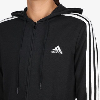 adidas majica s kapuljačom W 3S FT FZ HD