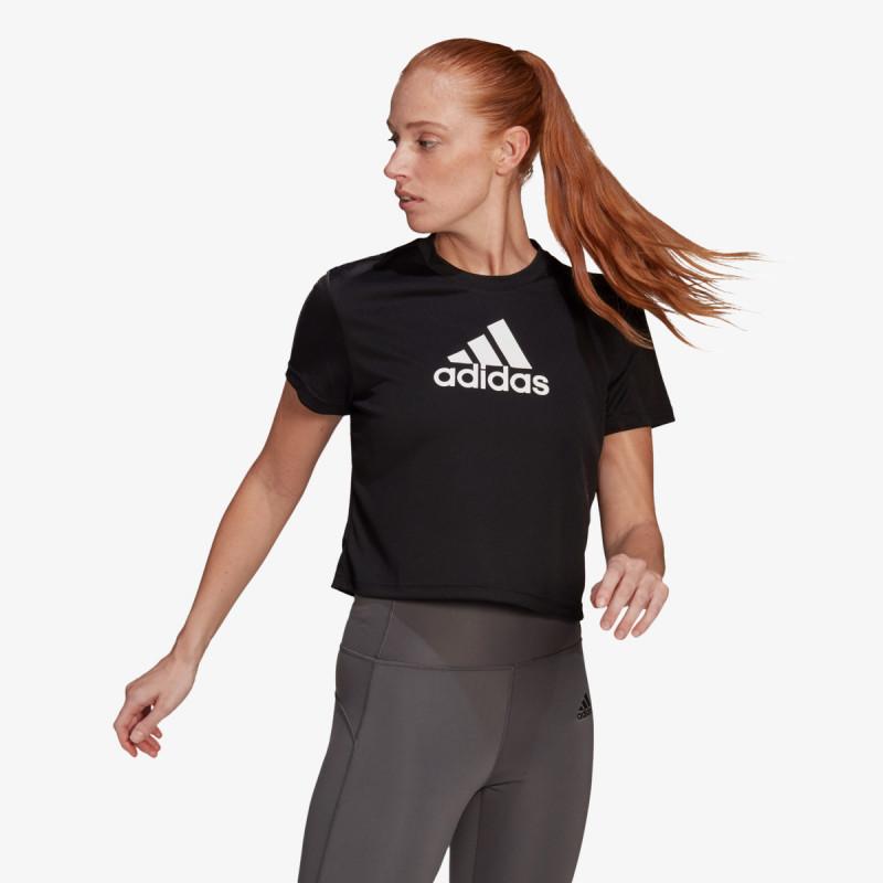 adidas t-shirt W BL CRO T