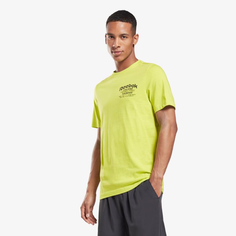 Reebok t-shirt WEIGHTLIFTING NOVELTY TEE