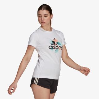 adidas t-shirt FLORAL GFX T