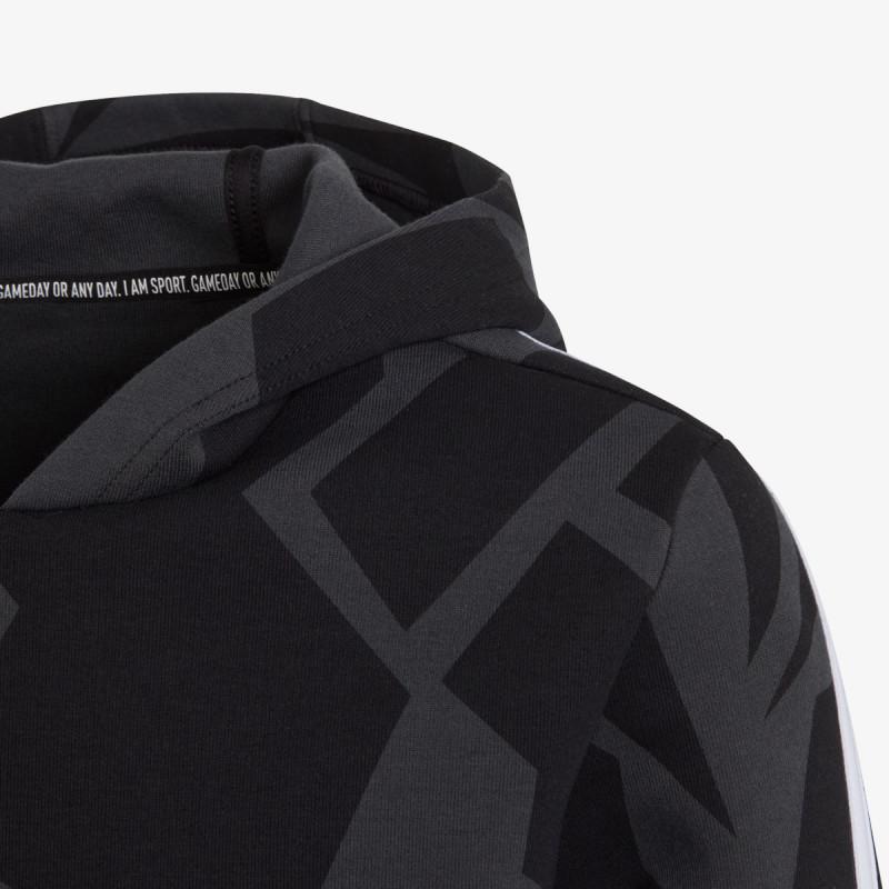 adidas dječja majica s kapuljačom B FI 3S GRA HD