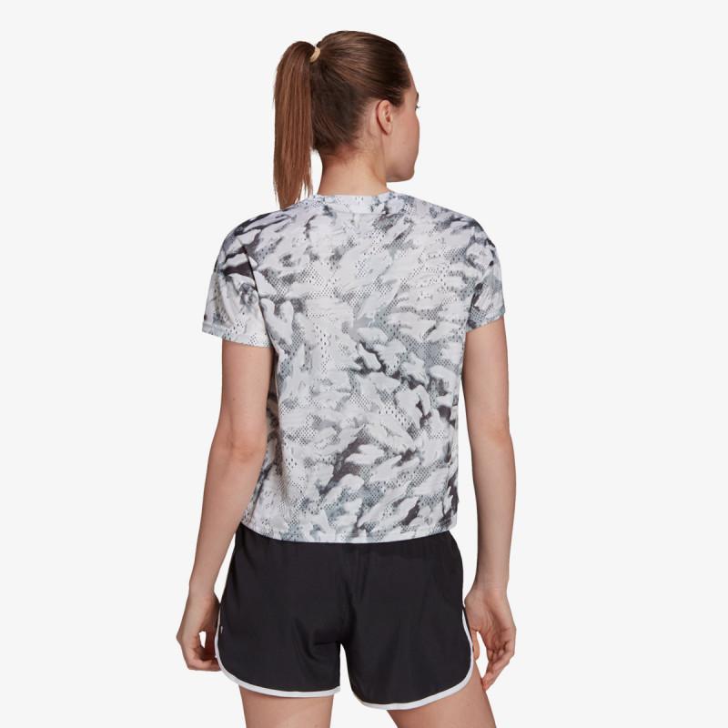 adidas t-shirt FAST AOP TEE