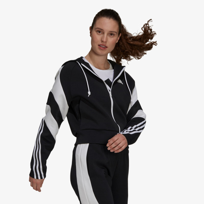 adidas majica s kapuljačom W SCB FZ HD