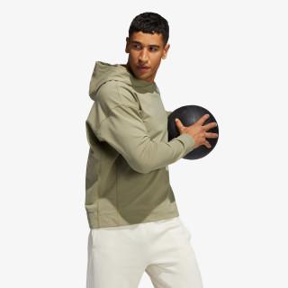 adidas majica s kapuljačom YOGA COVERUP