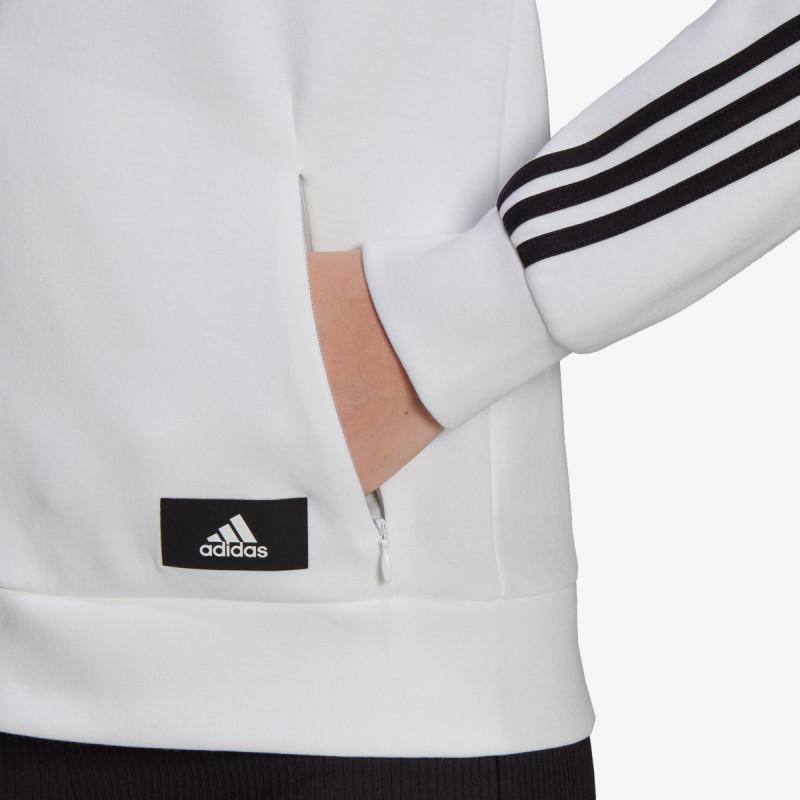 adidas majica s kapuljačom W FI 3S FZ REG