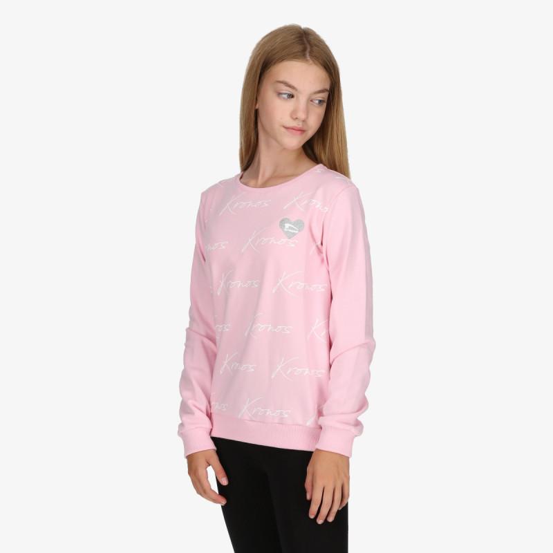 KRONOS dječja majica bez kragne GIRLS