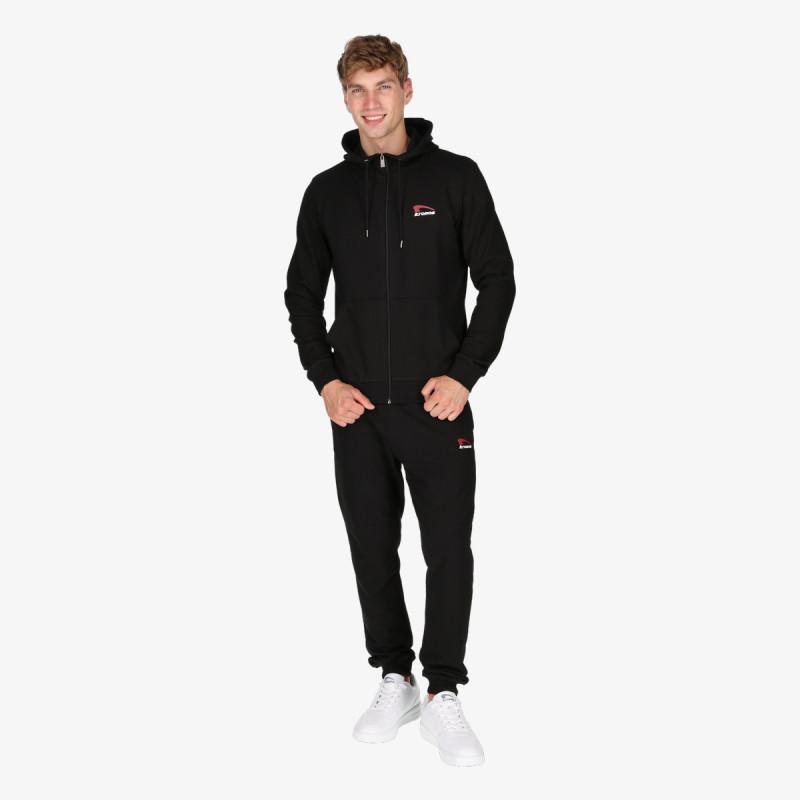 KRONOS majica s kapuljačom na patent MENS