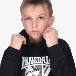 LONSDALE dječja majica s kapuljačom F21 Flagh Boys