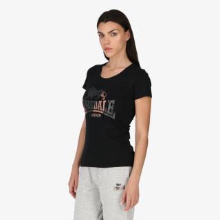 LONSDALE t-shirt ROSE GOLD