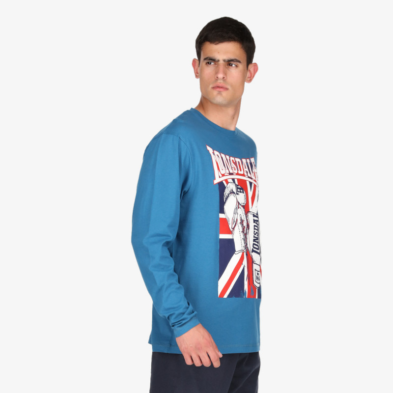 LONSDALE majica dugih rukava F21 Flag LONG