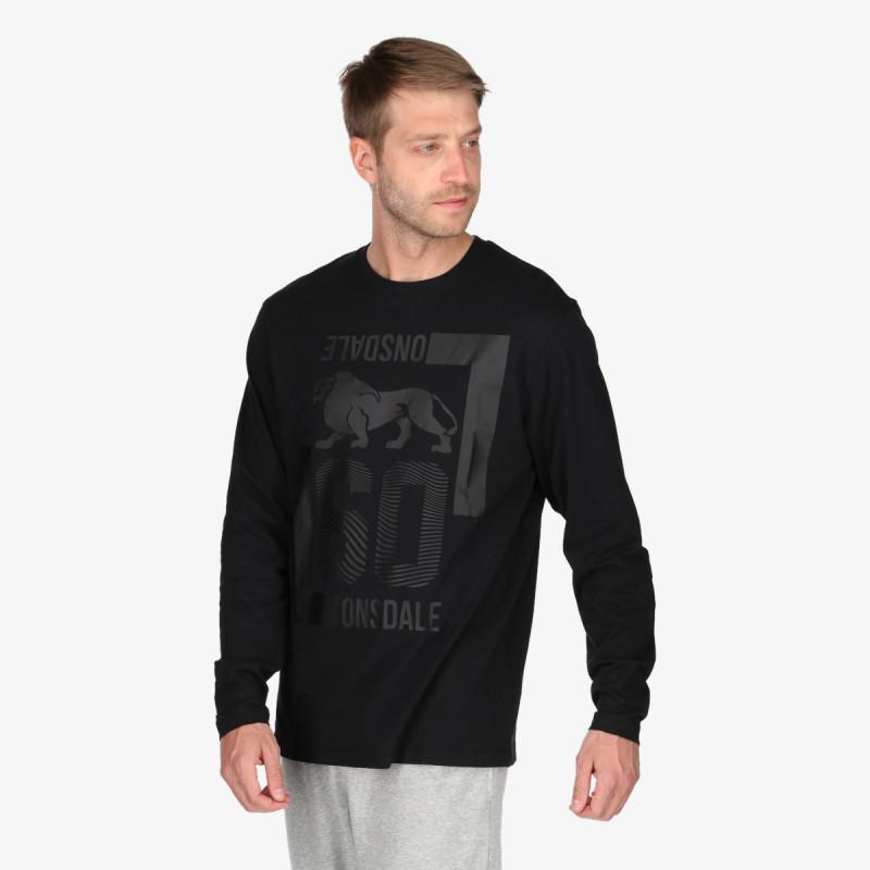 LONSDALE majica dugih rukava BLK F21 LONG