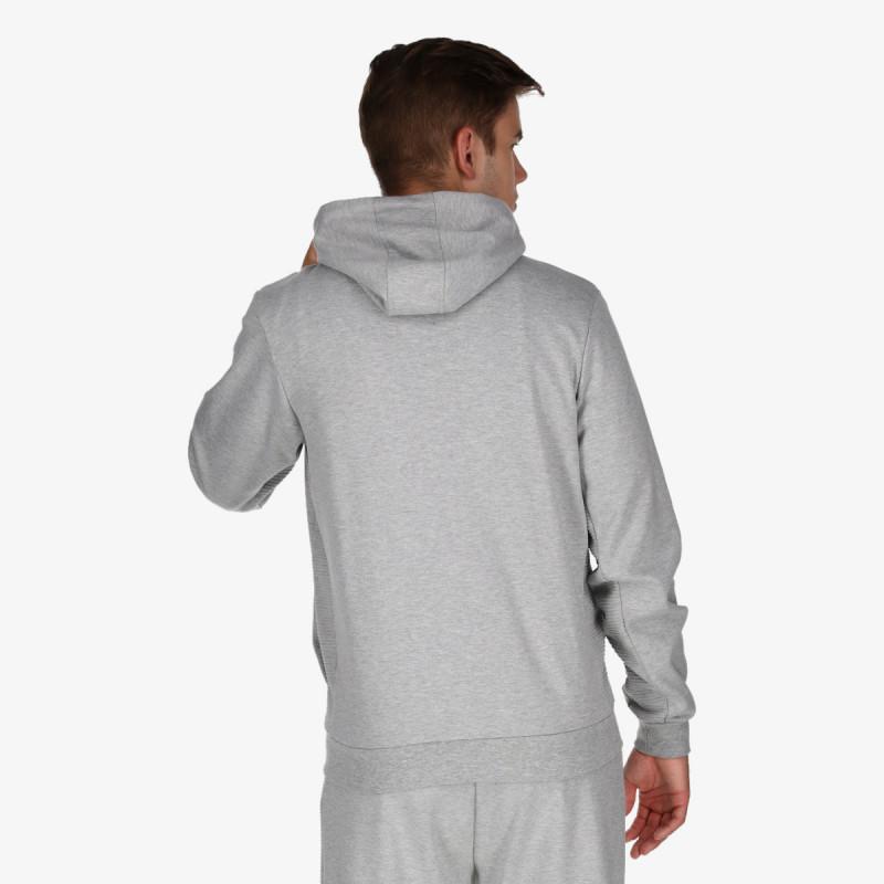 LOTTO majica s kapuljačom na patent WAVE FZ