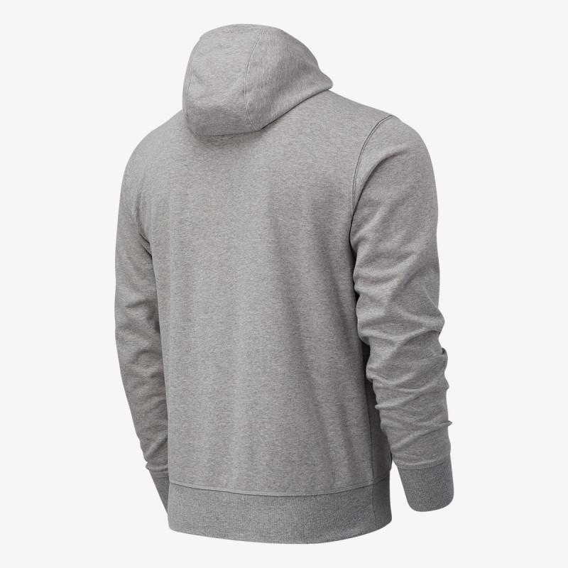 NEW BALANCE majica s kapuljačom na patent NB Essentials Stacked
