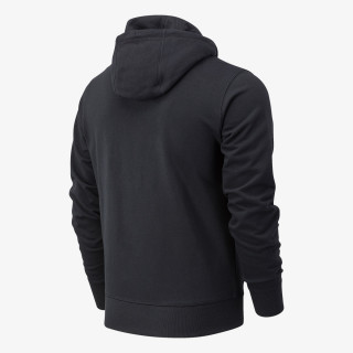 NEW BALANCE majica s kapuljačom na patent ESSENTIALS STACKED