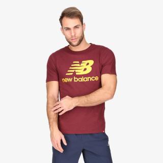 NEW BALANCE t-shirt Essentials Stacked Logo Tee