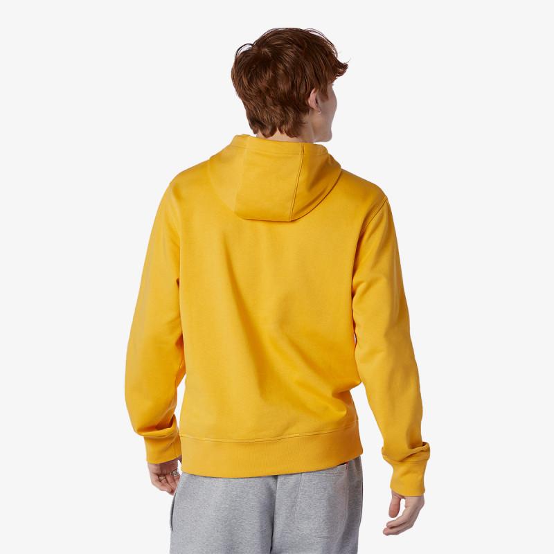 NEW BALANCE majica s kapuljačom Essentials Stacked Logo Po