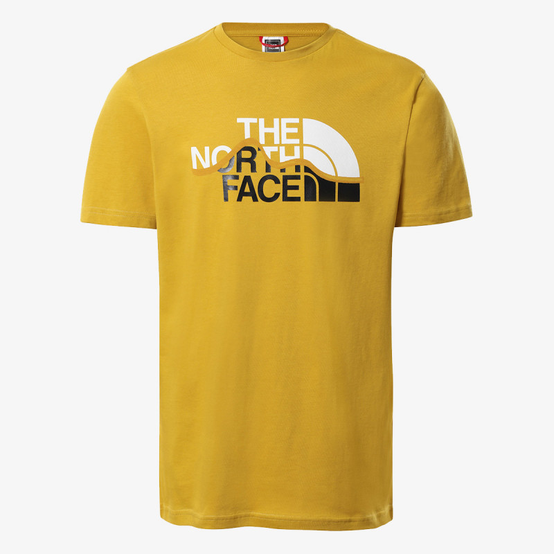 THE NORTH FACE t-shirt M S/S MOUNTAIN LINE TEE - EU