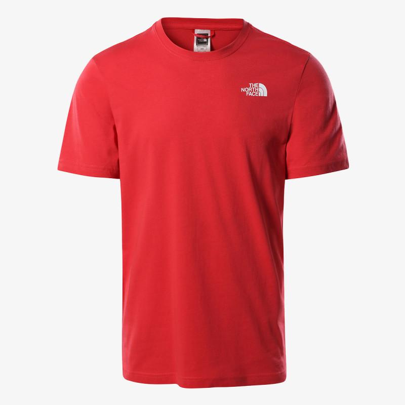 THE NORTH FACE t-shirt M S/S REDBOX TEE - EU