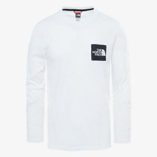 THE NORTH FACE t-shirt M L/S FINE TEE - EU